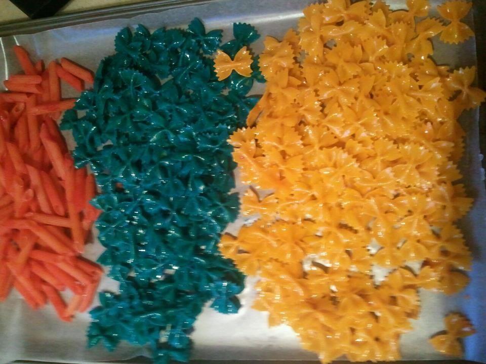 Pasta Food Coloring Cheap Toddler Craft Supplies