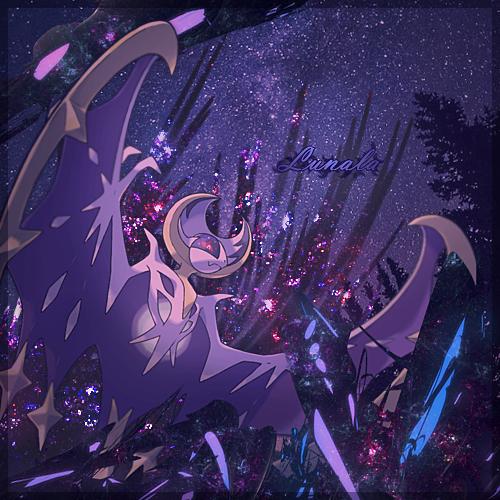 Lunala Banner By Pocket Genos On Deviantart Cool Pokemon Wallpapers Pokemon Moon Pokemon Fan Art