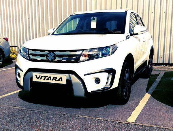 The Stunning All New Vitara Waiting For It S New Owner To Take It Home Newcar Suzuki Suv Suzuki Cars Suzuki New Cars