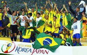 2002 World Cup Winner Brazil Foodpandafootballfever Fifa World Cup Teams World Cup