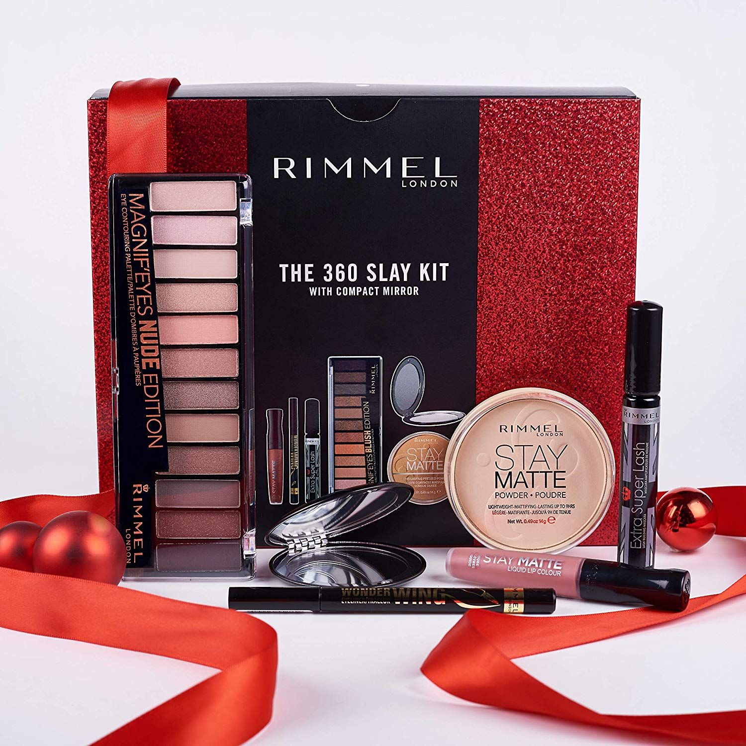30ed306906b Eyeshadow Palette · Mascara · Lashes · Mothers day gifts | Rimmel The 360  Slay Kit Gift Set (includes Stay Matte Powder