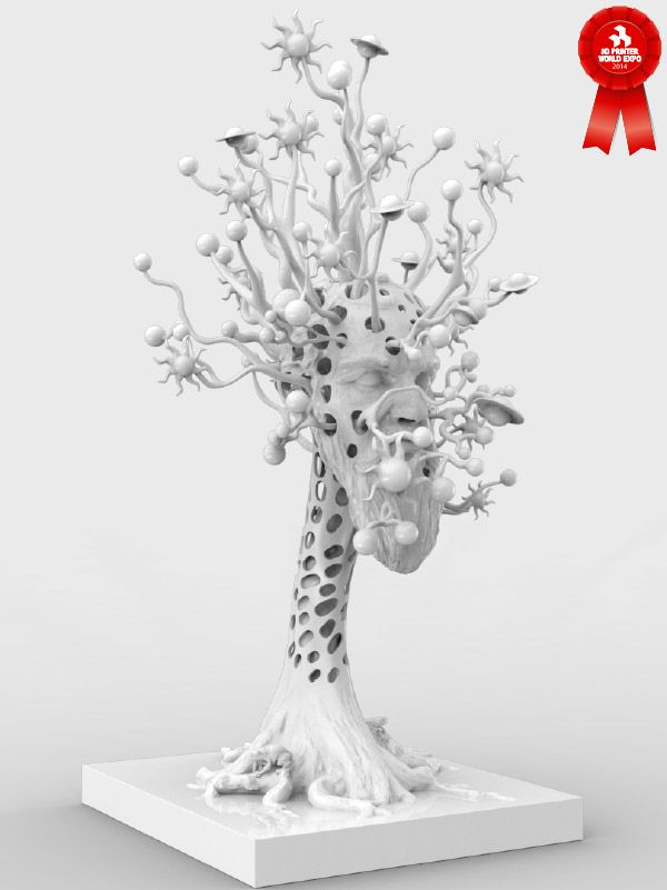 Abstract Art Contest Winners Evoke 3d Printing Renaissance