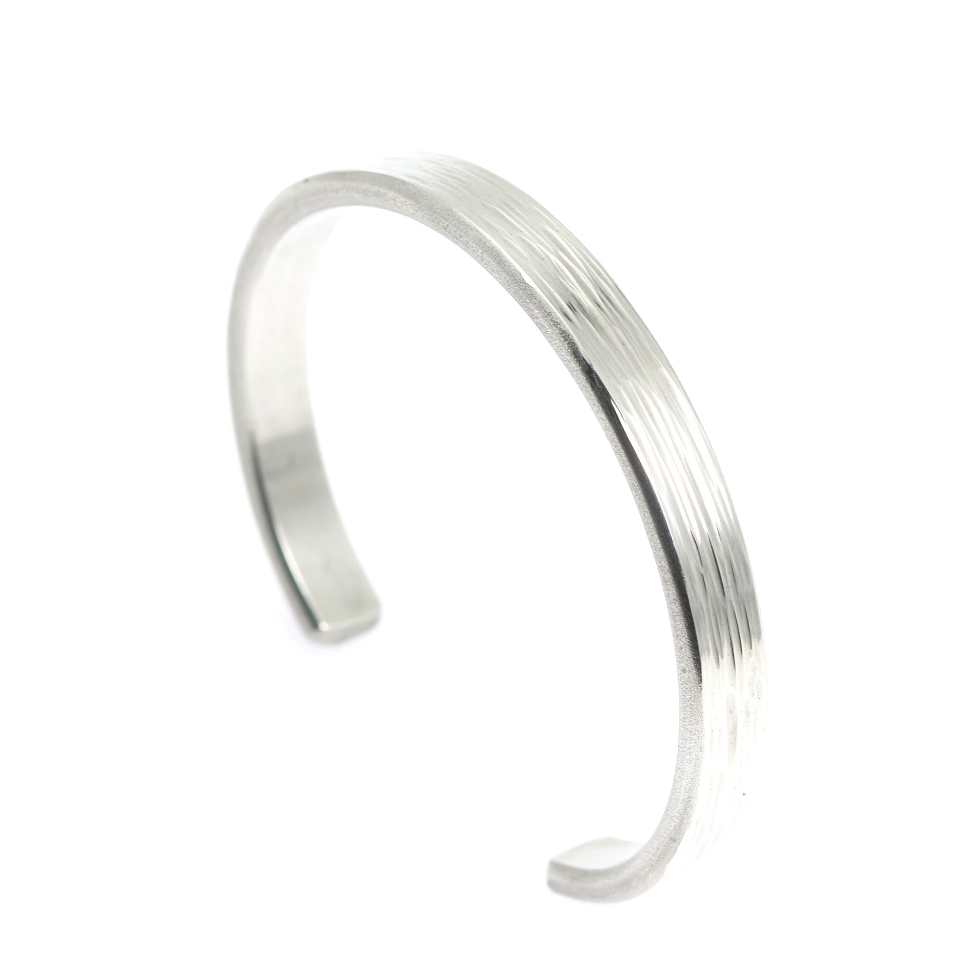 New exceptional mm thin bark aluminum cuff bracelet offered on