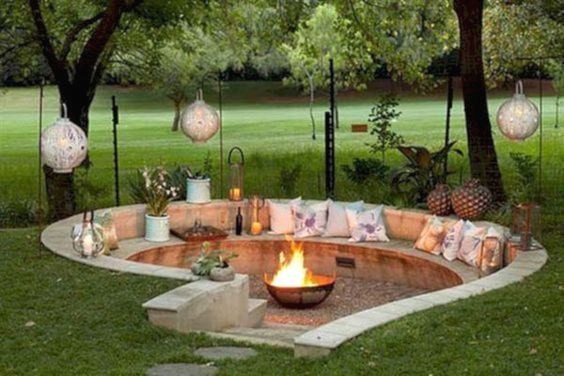 Decorating your outdoor is good. This is the place where you sit ...