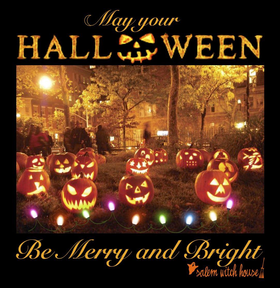 Let The Joy Of Halloween Brighten Your Life Karten