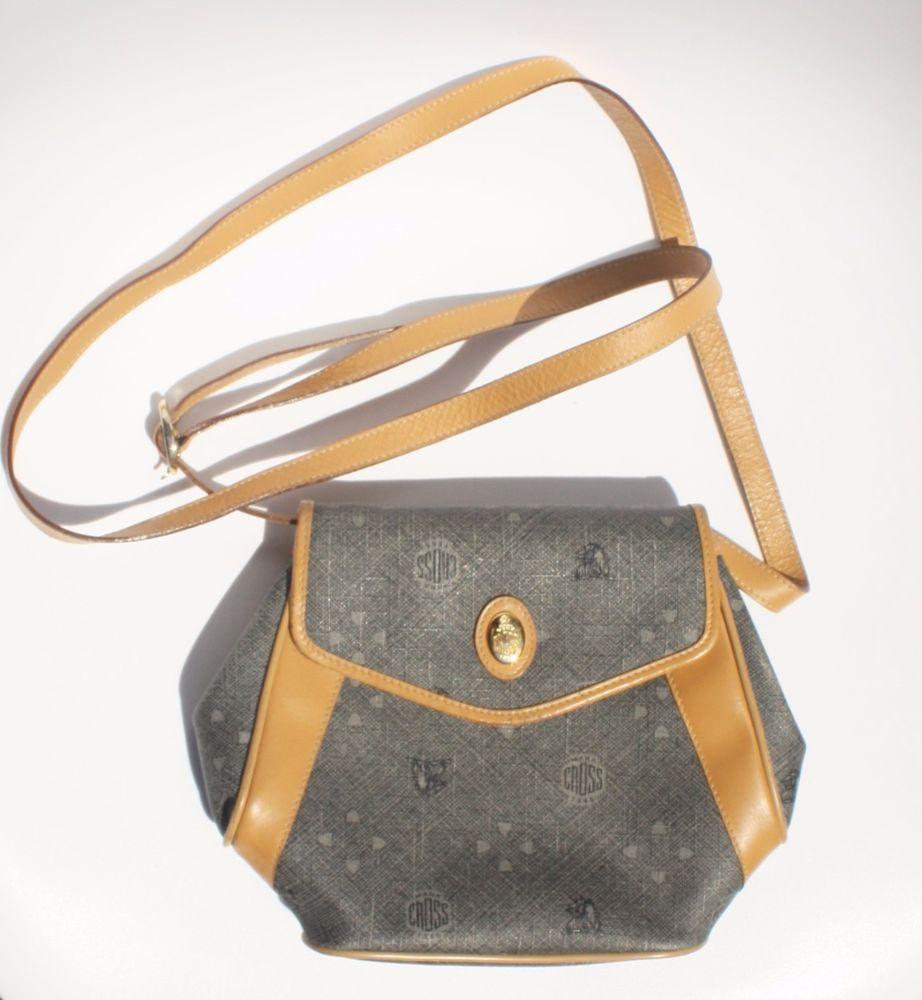 Mark Cross Italy Crossbody Bag Leather