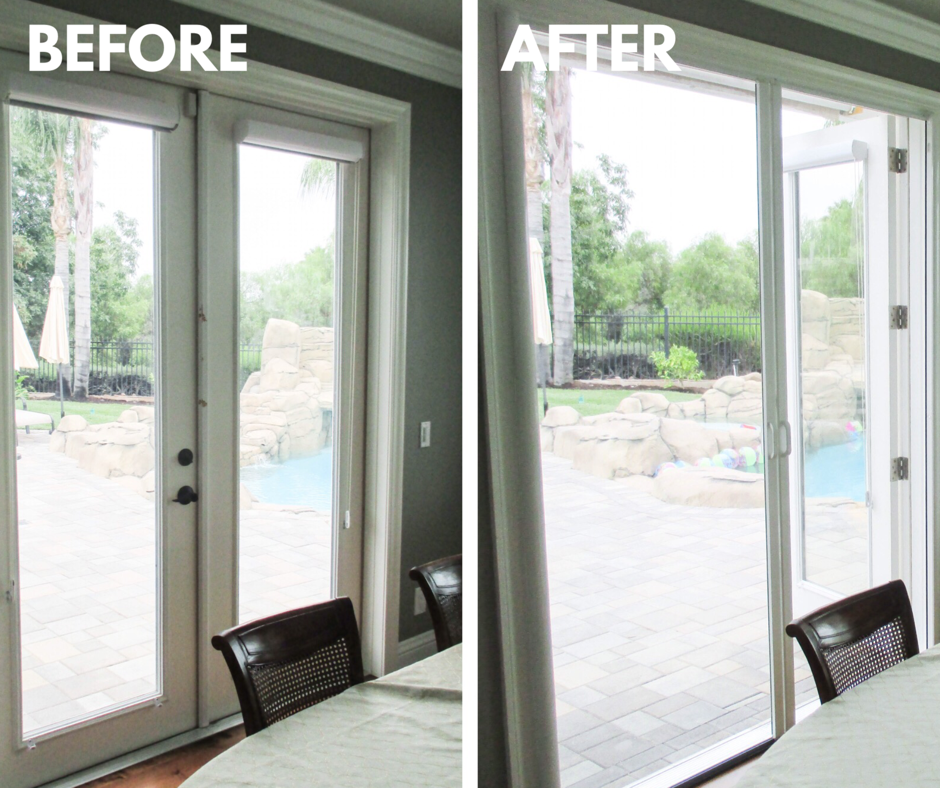 Check out these double Retractable Screen Doors that we ...