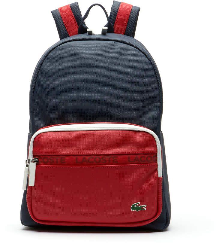 8d19b7a92e Men's L.12.12 Concept Colorblock Petit Piqué Backpack | Products ...