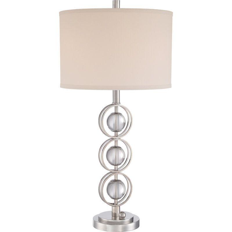 View The Quoizel Vvln6330 Legend 3 Light Table Lamp At Lightingdirect Com Lamp Table Lamp Light Table
