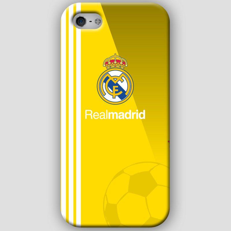 Pin En Fundas Iphone 4 4s 5 5s Real Madrid Cf