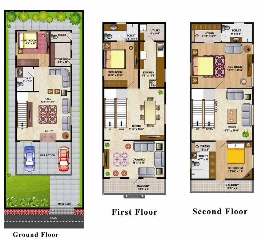 Related image House Pinterest – Villas At Fortune Place Floor Plan