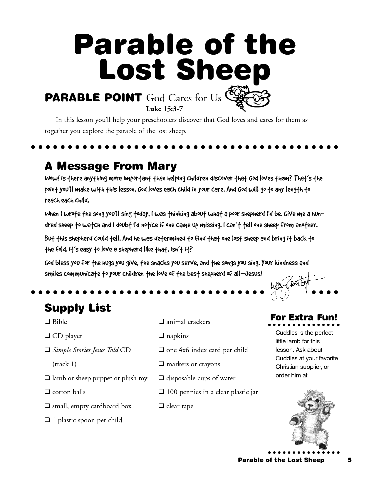 Colouring In Sheets For Parable Of The Lost Sheep Coloring