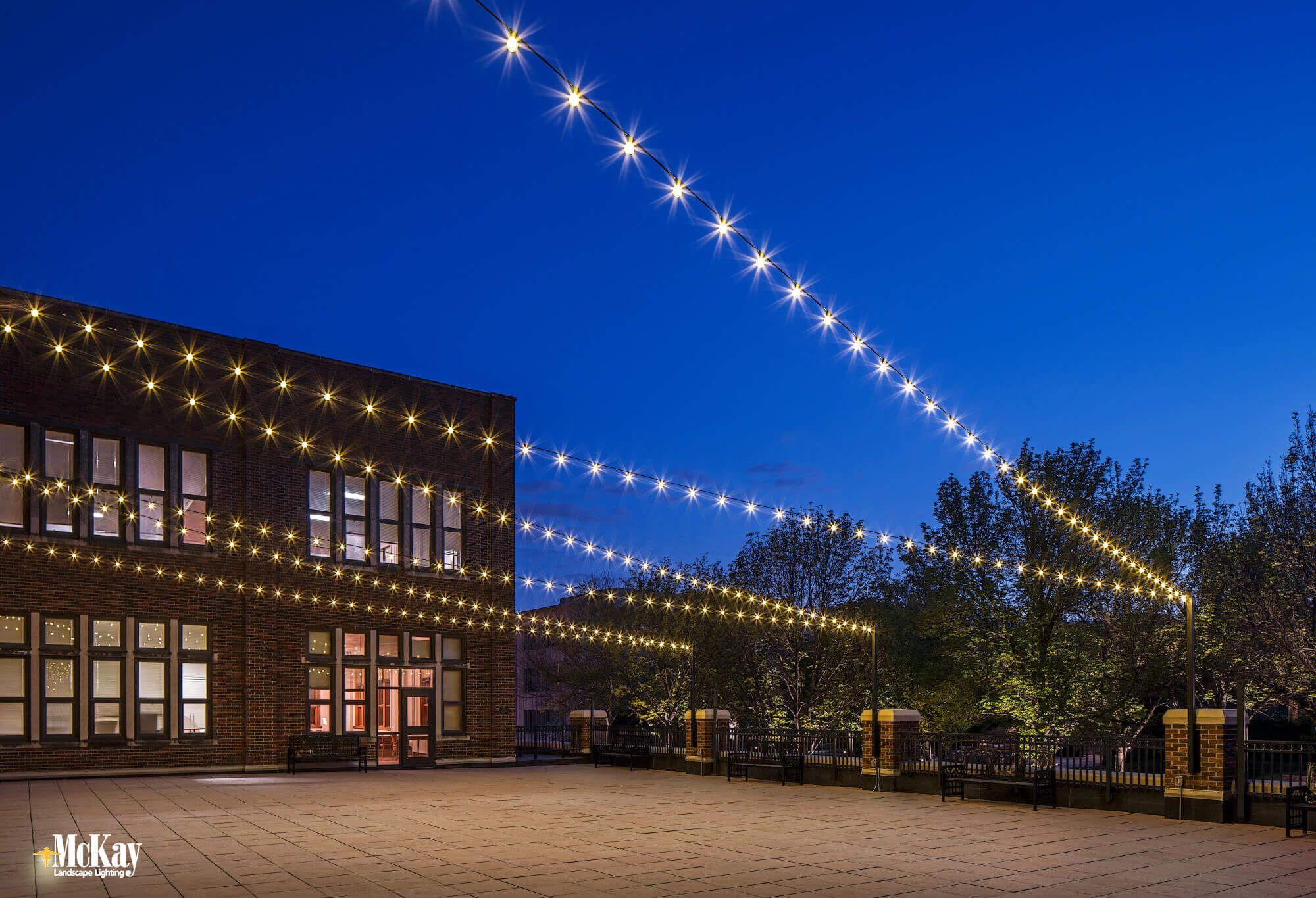 Outdoor Lighting Common Areas Of School