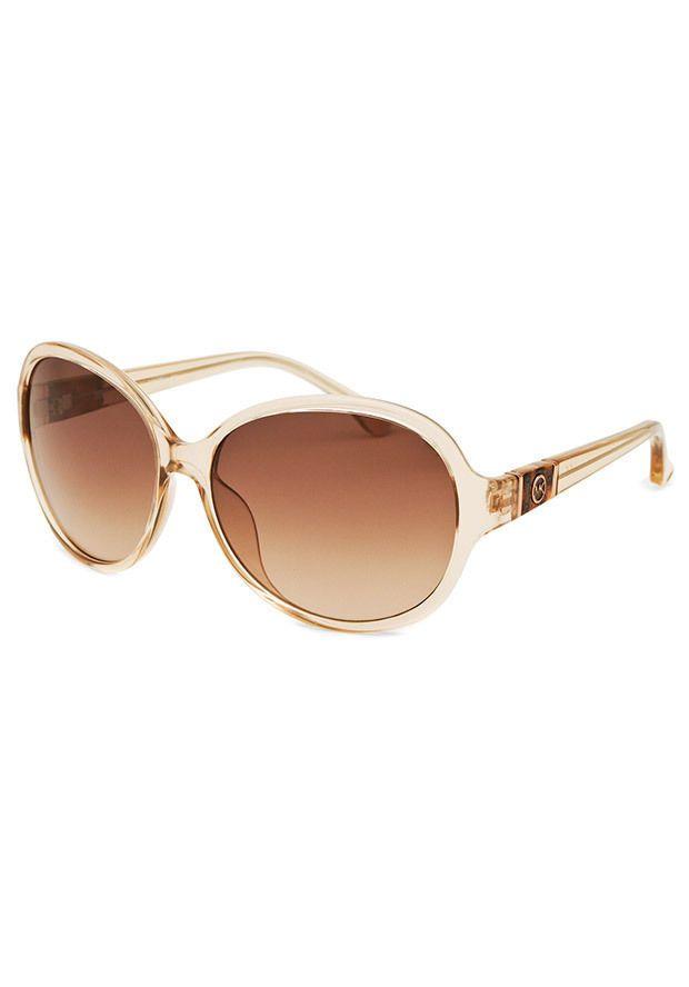 478f9834c364 Brand New Michael Kors Morgan Nude/Rose Womens Sunglasses  M2849S-212-58-15-130 #MichaelKors #Round