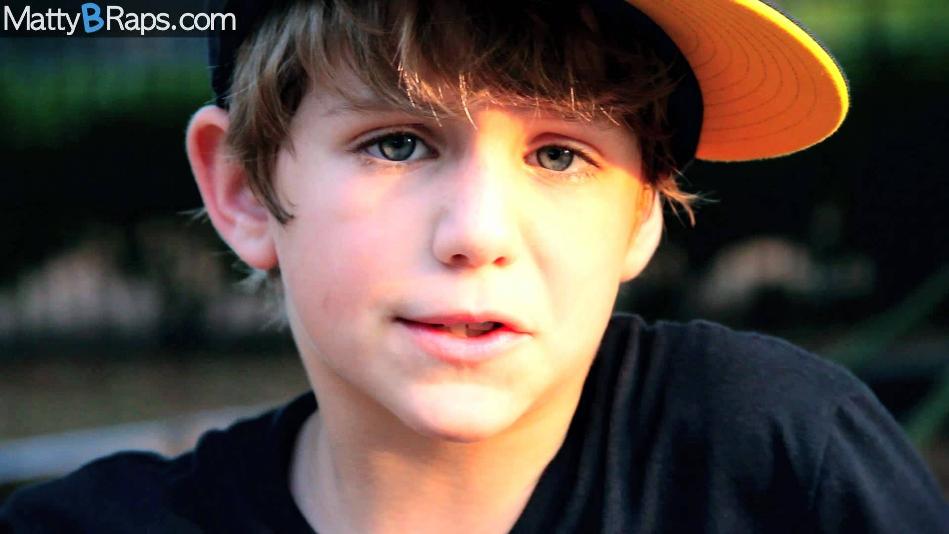 This is MattyB and he LOVES to rap Right now he s 8 years old and