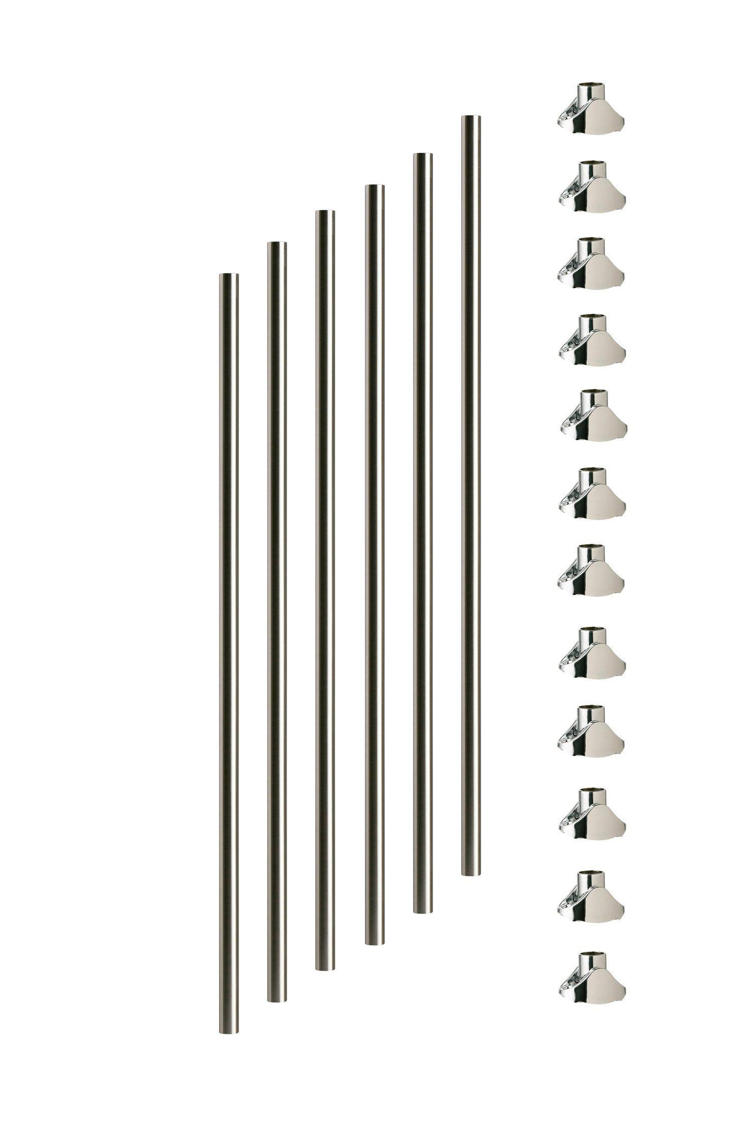 Best Axxys Chrome Spindles Rake 6Pk Axxys Chrome Staircase 400 x 300