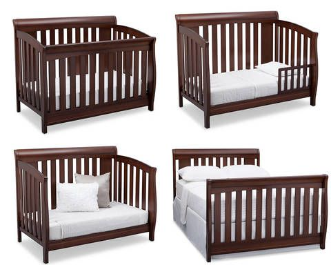Make Your Dream Nursery A Reality With The Clermont 4 In 1