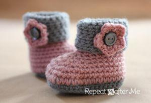 Schema Scarpine Neonato Hekel V Kindertjies Crochet Baby