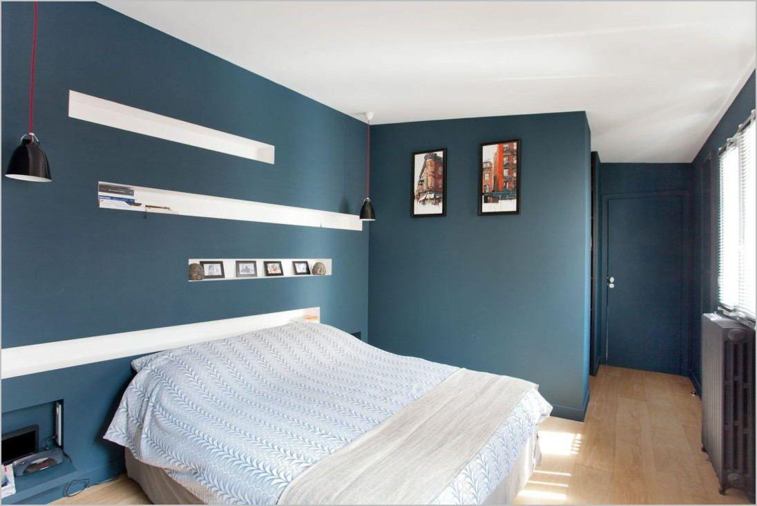 Tete De Lit Bleu Canard Peinture Épinglé sur chamber yahia