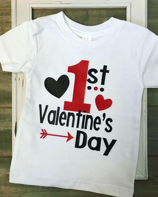 Boys 1st Valentine S Shirt Boys First Valentine S Day Bodysuit