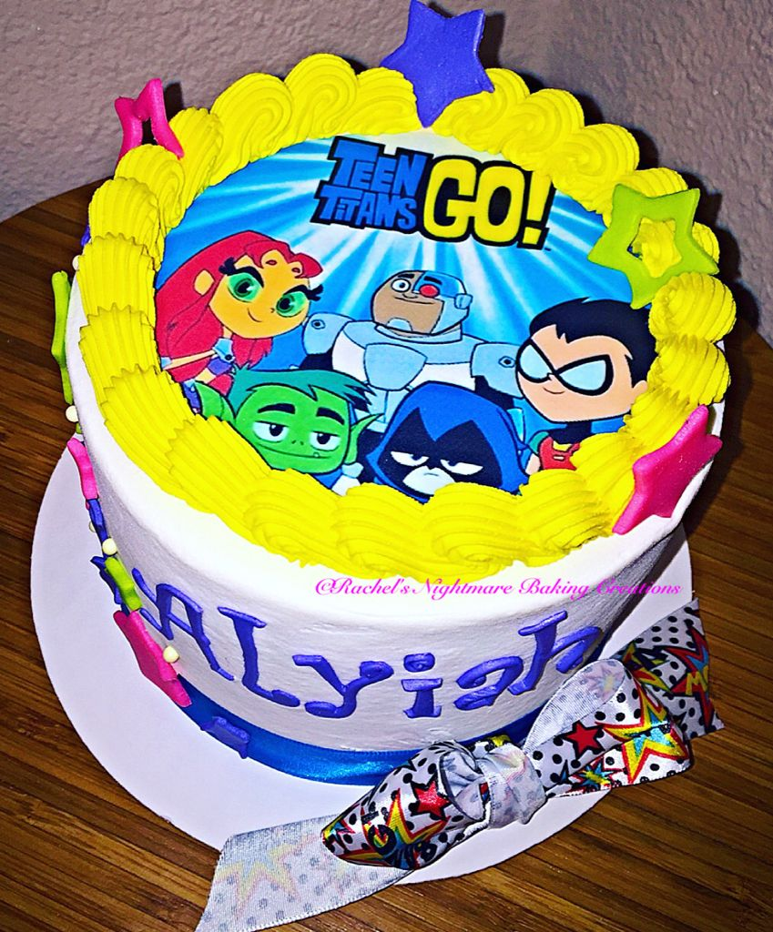 Teen Titans Go Cake  Mr Evan In 2019-6155