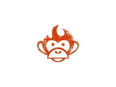 unused logo monkey logos and logo branding rh pinterest com  cool unused company logos