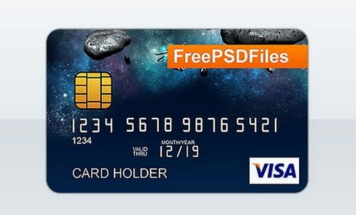 12 Free Credit Card Design PSD Templates Web&Graphic