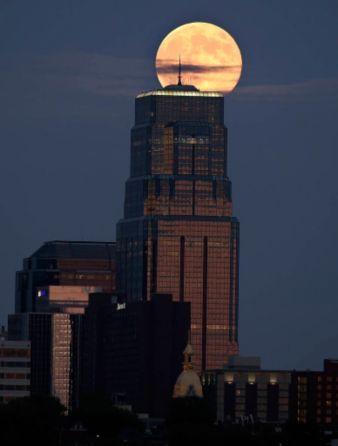 Photos of Super Moon