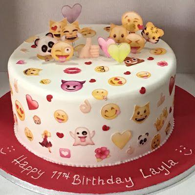 Fantastic Let Them Eat Cake Emoji Cake With Images Emoji Birthday Cake Personalised Birthday Cards Cominlily Jamesorg