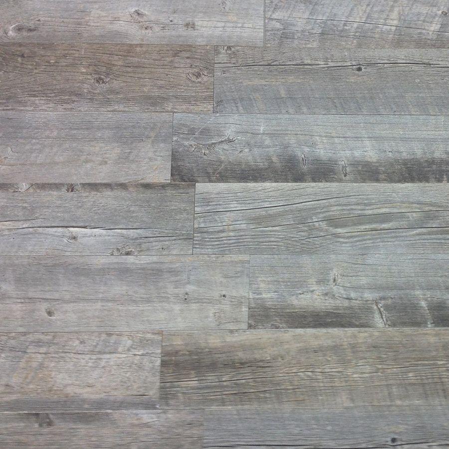 Shop Style Selections Natural Timber Ash Glazed Porcelain Floor Tile ...
