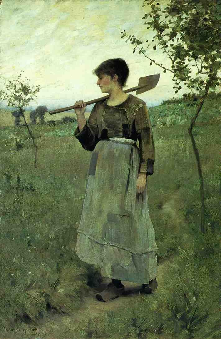 Charles Sprague Pearce (American painter, 1851-1914).