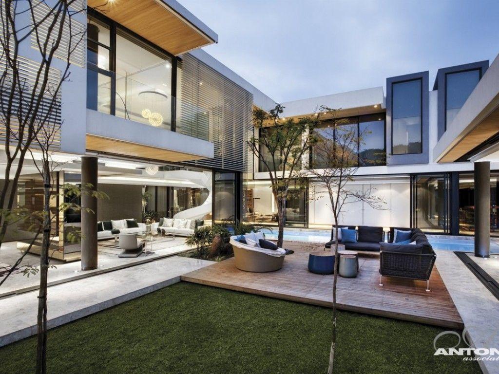 U Shaped Home Design Plans Part - 50: U-shaped Home Designs   Terrace Ideas In U Shaped House Design By SAOTA (
