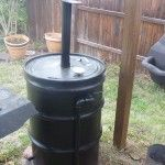 UDS smokestack + air inlet