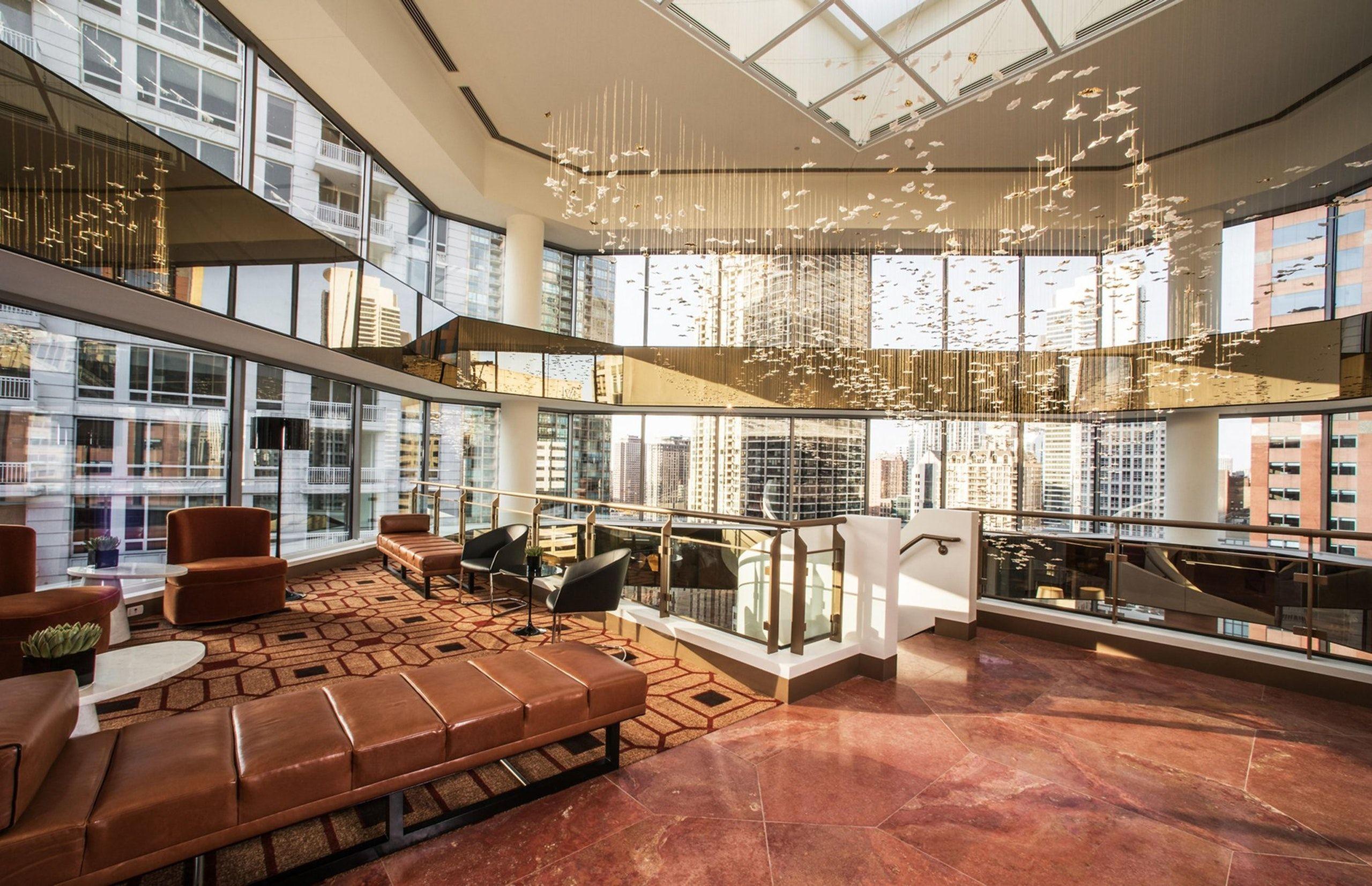 Atrium And Business Center Suites At Conrad Chicago Chicago