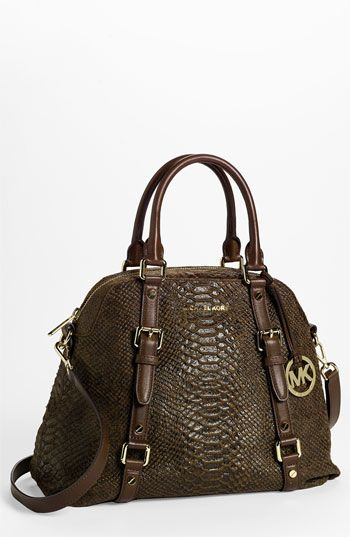 8e2ff3acf781 MICHAEL Michael Kors 'Bedford - Large' Bowling Satchel available at  #Nordstrom
