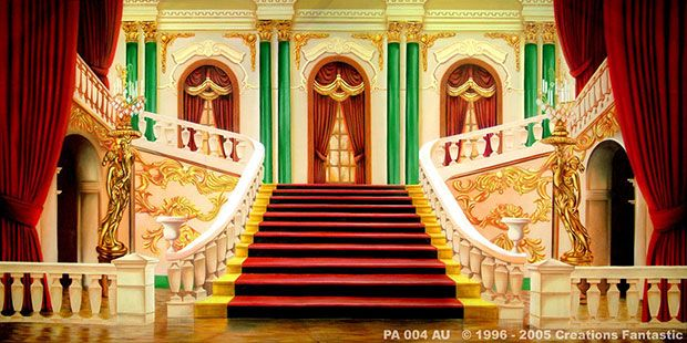 Palace Interior B Backdrops Fantastic Australia
