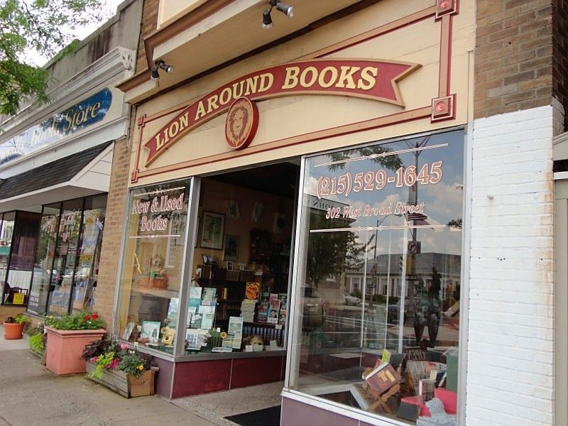Lion Around Books Quakertown Pa Cousin Doug S Store Quakertown Books Favorite Places