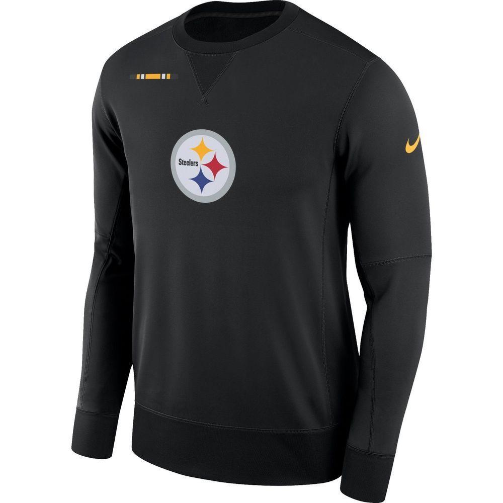 a4bb5afaa Nike Pittsburgh Steelers Sideline Team Logo Performance Sweatshirt Mens XL  Black  Nike  PittsburghSteelers