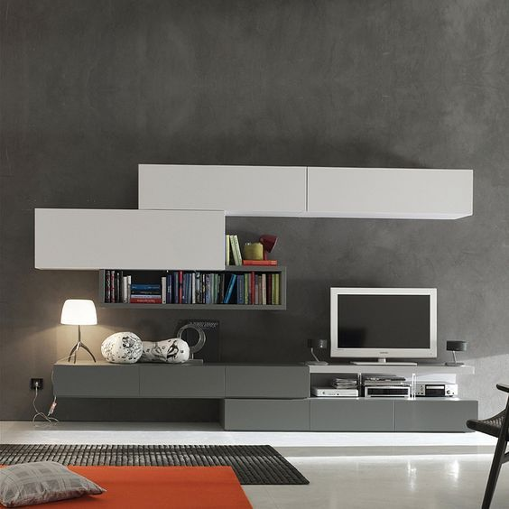 Modern Wall Units For Living Room: Pin On For The Home