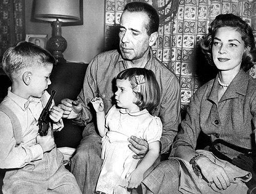 Bacall, Bogart & family