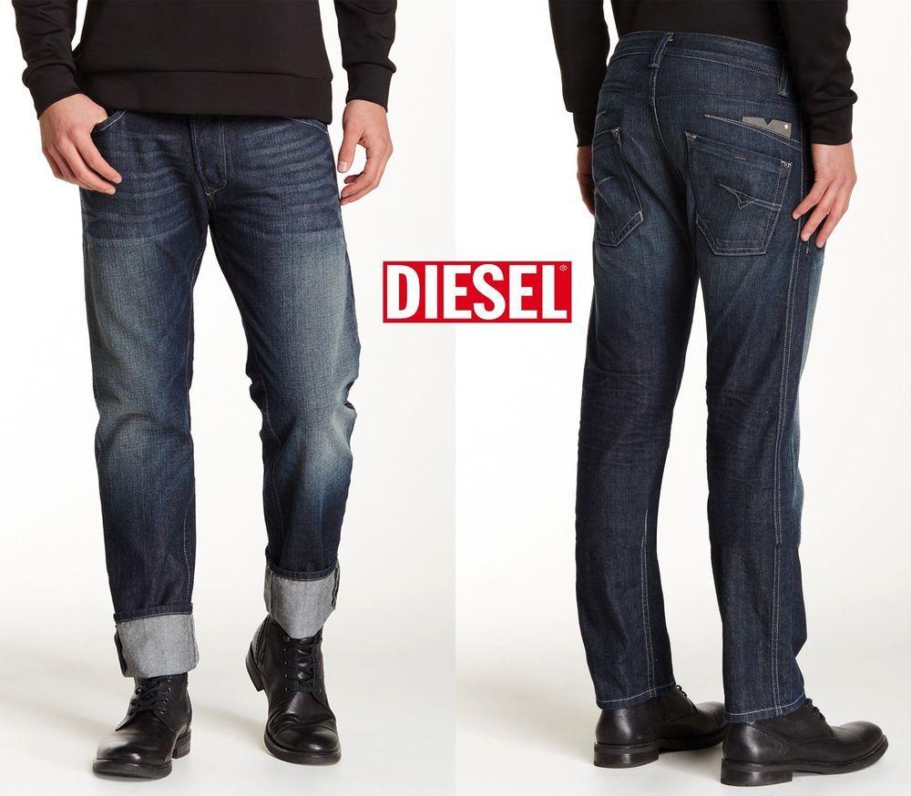 9b231e63 NWT $195 DIESEL DARRON ORZ31 REGULAR SLIM TAPERED LEG JEAN.MADE IN USA. SZ  32X32 #DIESEL #SlimSkinny
