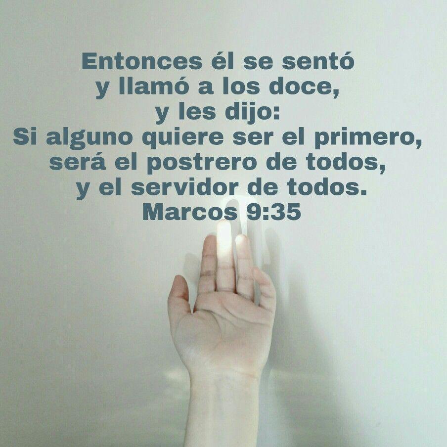 Y tomó a un niño, y lo puso en medio de ellos; y tomándole en sus brazos, les dijo: El que reciba en mi nombre a un niño como este, me recibe a mí; y el que a mí me recibe, no me recibe a mí sino al que me envió. Marcos 9:36-37