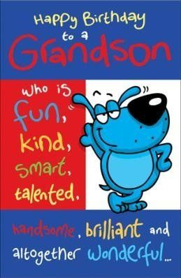 Birthday gretings grandson happy birthday grandson humorous birthday gretings grandson happy birthday grandson humorous birthday greetings card m4hsunfo