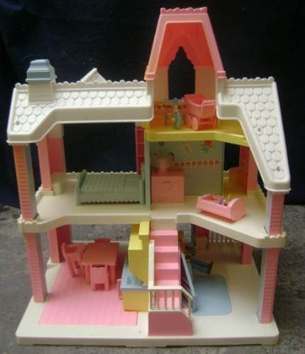 Little Tikes Victorian Kitchen: The Dollhouse I Had. My Brother Was So Little He Could