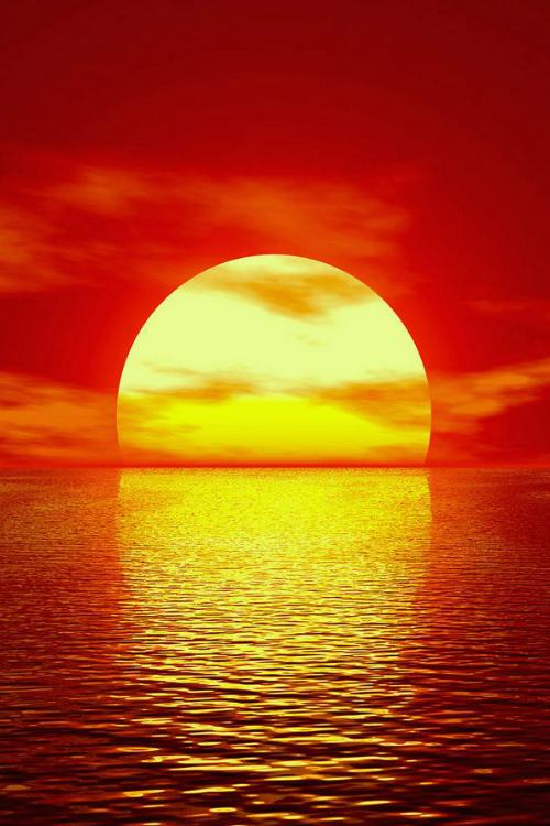 Red Sunset Ocasos Y Alboradas Atardecer Precioso Puestas De Sol Y Sol