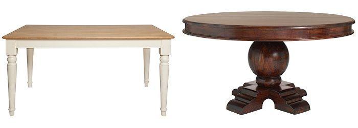 mesas de comedor clásicas el corte inglés | deco casa