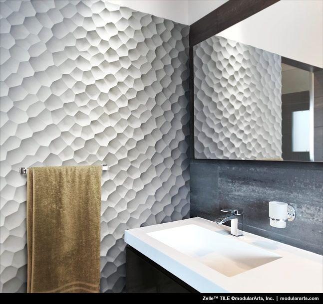Interest Wall By Modular Art, Zelle Tile