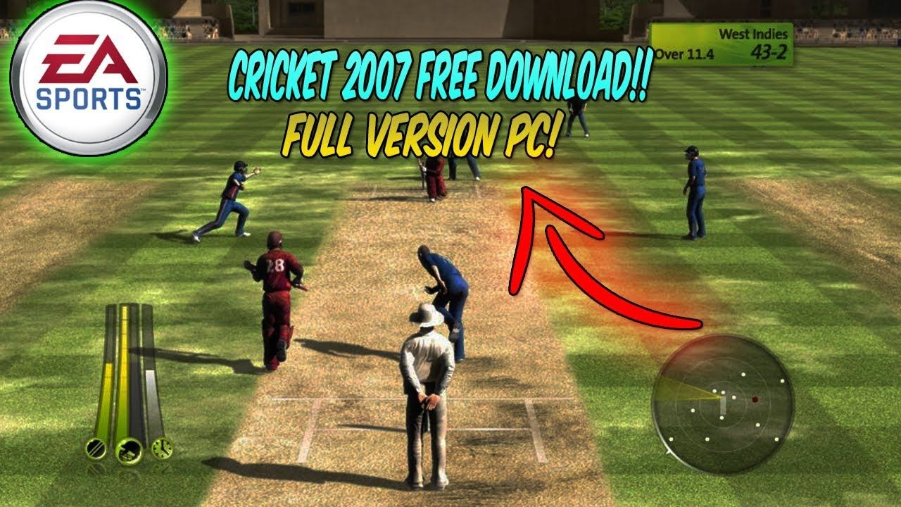 (WINDOWS 10/8/7!!) How TO DOWNLOAD EA SPORTS Cricket 2007