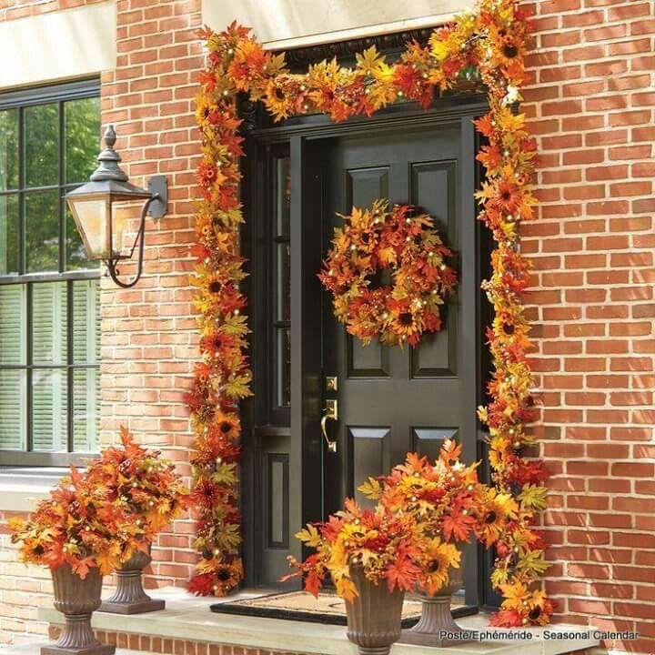 Ephemeride Seasonal Calendar Sunflower Home Decor Fall Outdoor Decor Fall Front Porch Decor