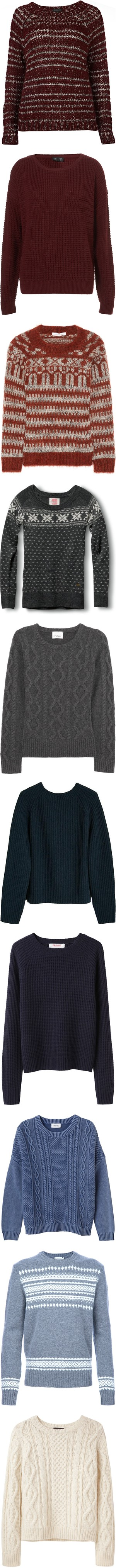 """Vintage Jumpers"" by hopes-and-fears ❤ liked on Polyvore"